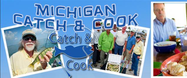 Lake erie walleye and perch fishing charter near monroe for Catch and cook fish
