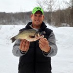 Aaron with a giant White Perch