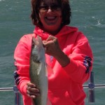 Lake Erie walleye fishing Monroe Michigan