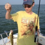 Lake Erie perch fishing charter