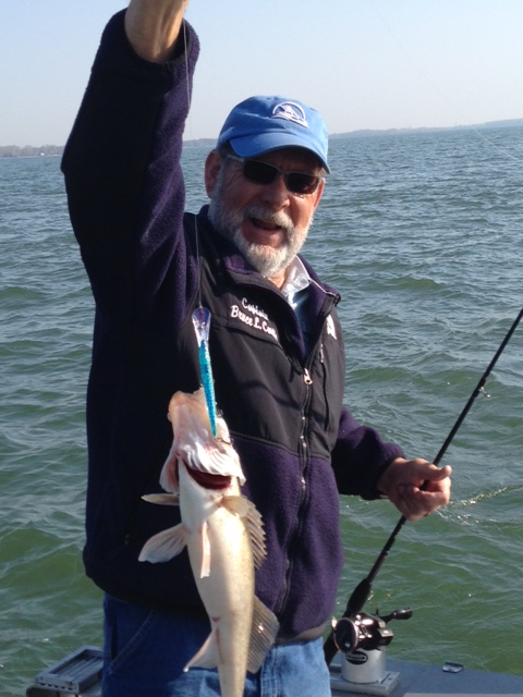 Walleye fishing stray cat fishing charters lake erie for Lake erie fishing charters