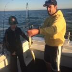 Lake Erie Perch fishing charter trip