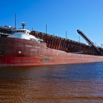 Marquette Michigan iron ore dock