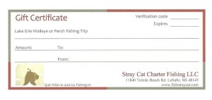 Stray Cat Charters Gift Certificate