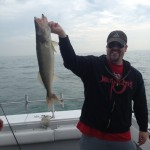 Walleye fishing charter trip