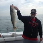 Walleye fishing charter trip