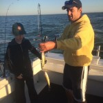 Lake Erie Perch fishing charter trip